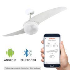 Ventilador-de-Teto-Spirit-202-Branco-Bluetooth-controlado-por-aplicativo