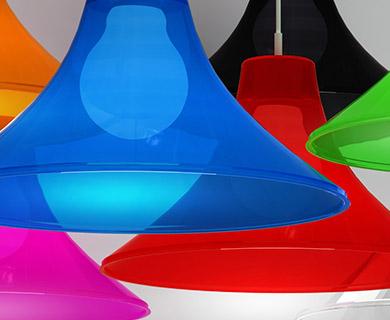 Luminárias Pendentes Combine Spirit Coloridas