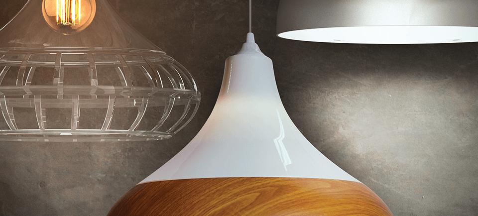 Luminárias Pendentes Combine Spirit - Diversas possibilidades