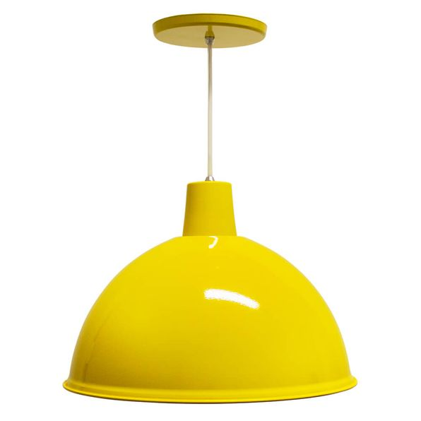 Luminaria-Pendente-Design-de-Aluminio-TD821-Amarela