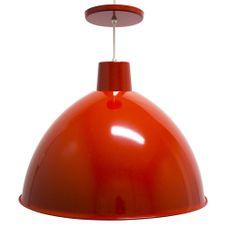 Luminaria-Pendente-Taschibra-TD822-Vermelha