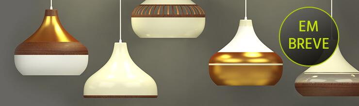 Conheça as novas luminárias pendentes Combine SPIRIT