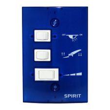 Controle-de-Parede-Ventilador-de-Teto-Spirit-Azul-Indigo