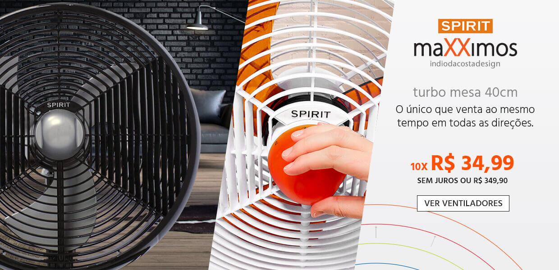 Ventilador de Mesa Turbo SPIRIT maXXimos