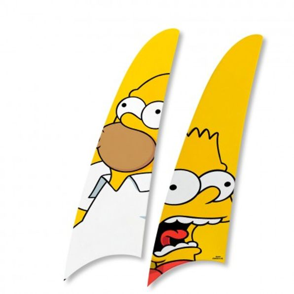 Kit-2-Pas-Spirit-Os-Simpsons-Homer-e-Bart-ts12
