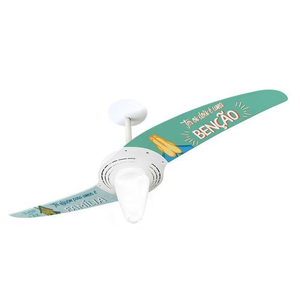 Ventilador-de-Teto-Spirit-201-Frases-Bencao-TP05-Lustre-Conico