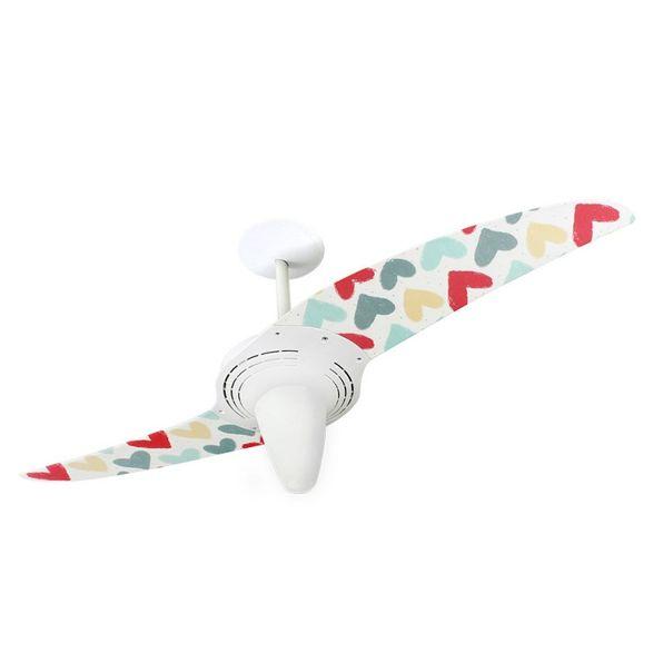 Ventilador-de-Teto-Spirit-201-Amor-Coracoes-de-Giz-L51-Lustre-Conico