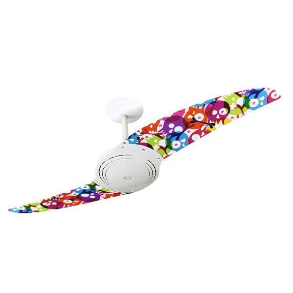 Ventilador-de-Teto-Spirit-200-Caveira-Teen-Coloridas-L2-Sem-Lustre