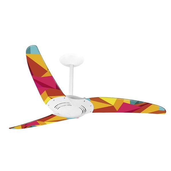 Ventilador-de-Teto-Spirit-300-Geometrico-Origami-R12-Sem-Lustre