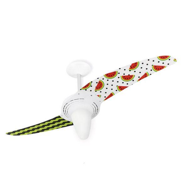 Ventilador-de-Teto-Spirit-201-Gourmet-Melancia-L25-Lustre-Conico