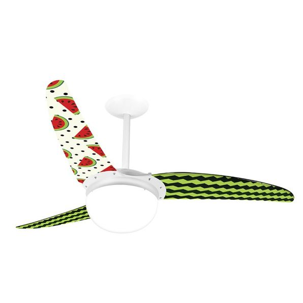 Ventilador-de-Teto-Spirit-302-Gourmet-Melancia-L25-Lustre-Globo
