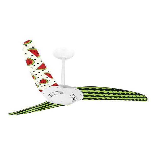 Ventilador-de-Teto-Spirit-300-Gourmet-Melancia-L25-Sem-Lustre