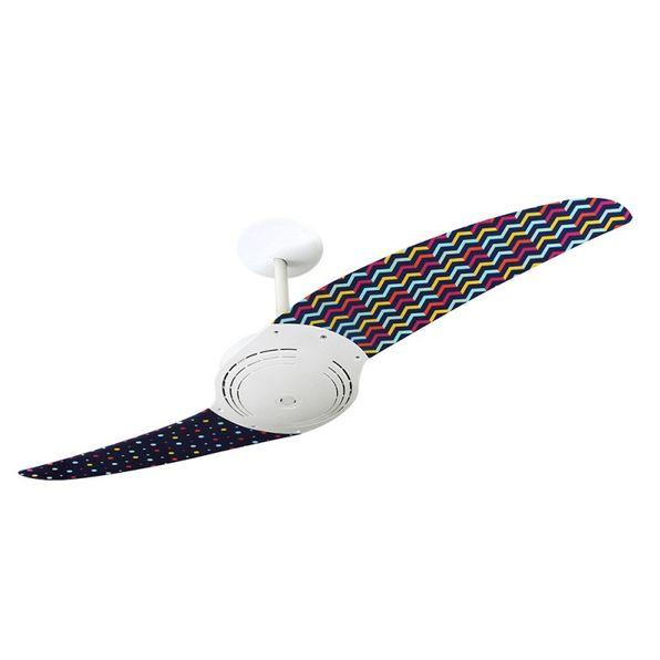 Ventilador-de-Teto-Spirit-200-Listrado-Zigzag-e-Confetes-L10-Sem-Lustre