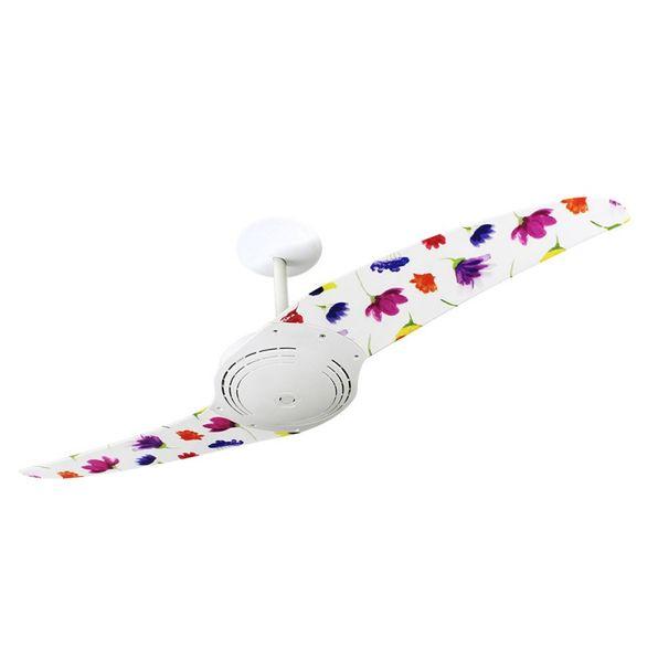 Ventilador-de-Teto-Spirit-200-Natureza-Flores-Coloridas-L41-Sem-Lustre