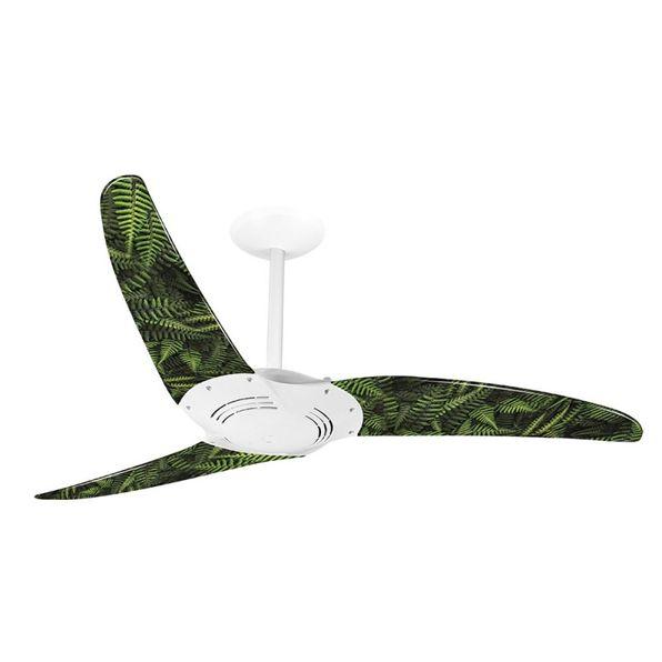 Ventilador-de-Teto-Spirit-300-Natureza-Plantas-H1-Sem-Lustre