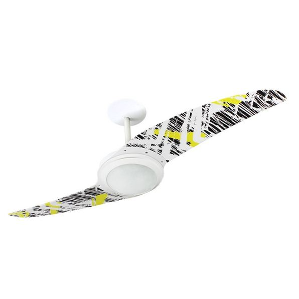 Ventilador-de-Teto-Spirit-203-Pop-e-Abstrato-Rabiscos-L13-Lustre-Flat-Lustre-Flat