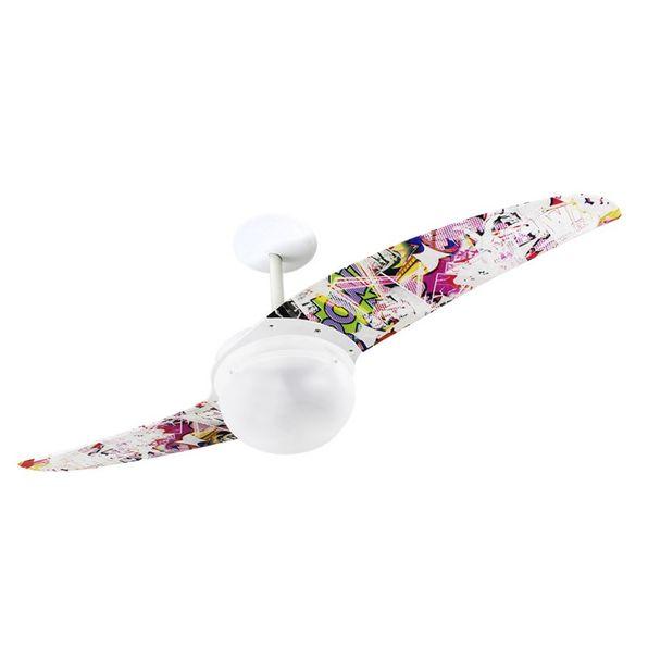 Ventilador-de-Teto-Spirit-202-Pop-e-Abstrato-Rabiscos-H5-Lustre-Globo-Lustre-Globo