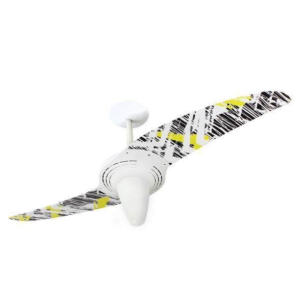 Ventilador-de-Teto-Spirit-201-Pop-e-Abstrato-Rabiscos-L13-Lustre-Conico-Lustre-Conico