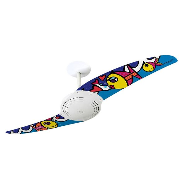 Ventilador-de-Teto-Spirit-200-Romero-Britto-Deeply-In-Love-RB13-Sem-Lustre