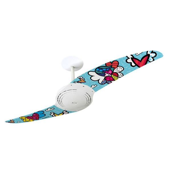 Ventilador-de-Teto-Spirit-200-Romero-Britto-People-Angel-RB09-Sem-Lustre