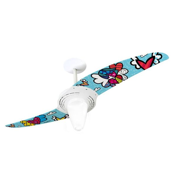 Ventilador-de-Teto-Spirit-201-Romero-Britto-People-Angel-RB09-Lustre-Conico