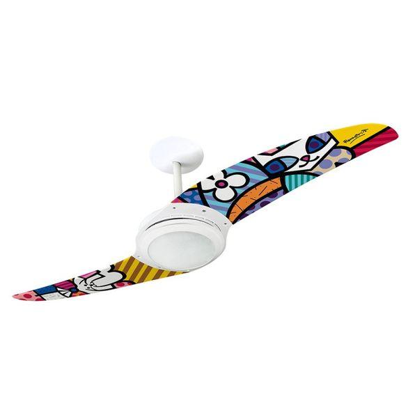 Ventilador-de-Teto-Spirit-203-Romero-Britto-Sammy-Cat-e-La-Dog-RB08-Lustre-Flat