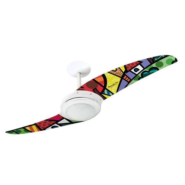 Ventilador-de-Teto-Spirit-203-Romero-Britto-A-Perfect-Day-RB07-Lustre-Flat