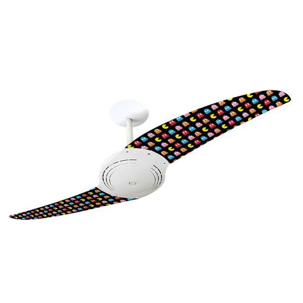 Ventilador-de-Teto-Spirit-200-Pac-Man-Miniaturas-PM06-Sem-Lustre