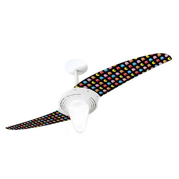 Ventilador-de-Teto-Spirit-201-Pac-Man-Miniaturas-PM06-Lustre-Conico