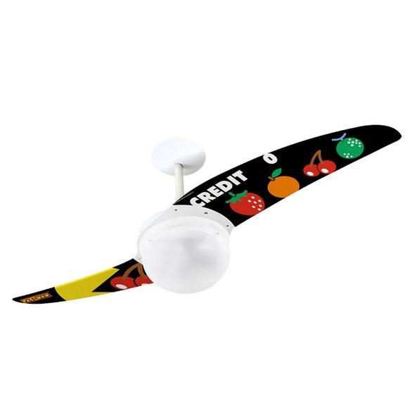 Ventilador-de-Teto-Spirit-202-Pac-Man-Pontos-e-Bonus-PM09-Lustre-Globo