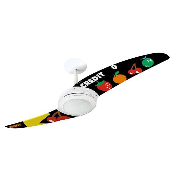Ventilador-de-Teto-Spirit-203-Pac-Man-Pontos-e-Bonus-PM09-Lustre-Flat