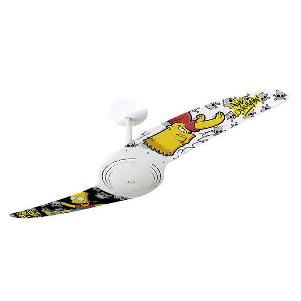 Ventilador-de-Teto-Spirit-200-Os-Simpsons-Bart-Skatista-TS16-Sem-Lustre