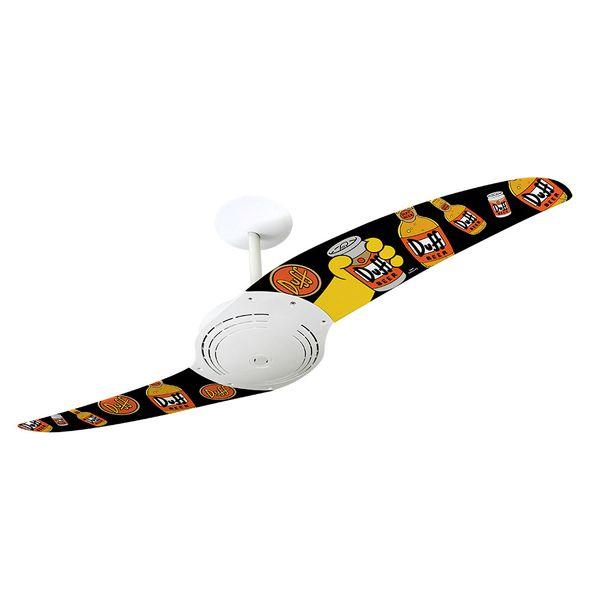 Ventilador-de-Teto-Spirit-200-Os-Simpsons-Cerveja-Duff-TS02-Sem-Lustre