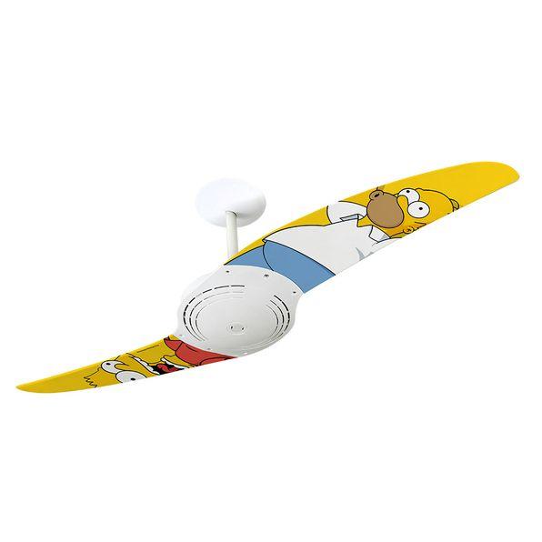 Ventilador-de-Teto-Spirit-200-Os-Simpsons-Homer-e-Bart-TS12-Sem-Lustre
