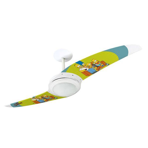 Ventilador-de-Teto-Spirit-203-Os-Simpsons-Familia-No-Sofa-Verde-TS05-Lustre-Flat