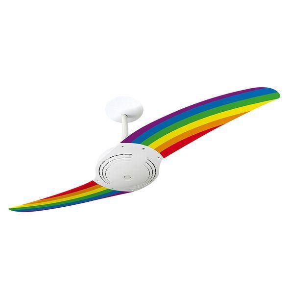 Ventilador-de-Teto-Spirit-200-Tribos-Arco-Iris-TR02-Sem-Lustre
