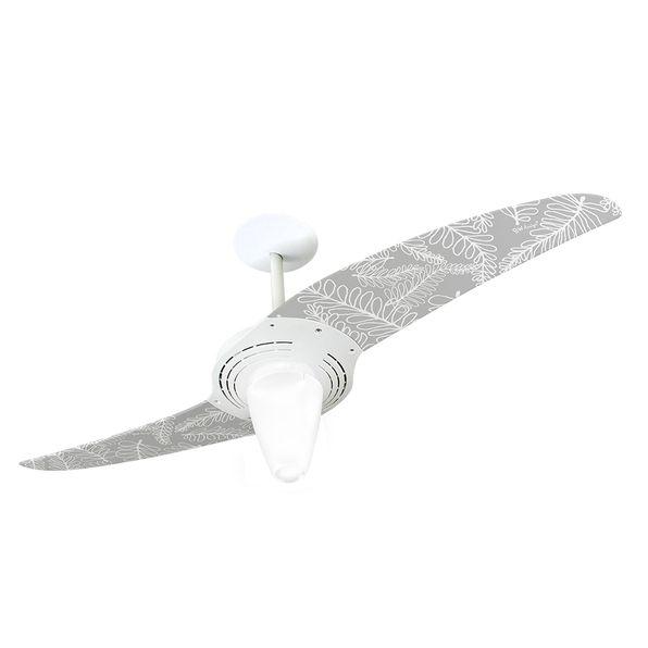 Ventilador-de-Teto-Spirit-201-Bio-Algodao-BW01-Lustre-Conico
