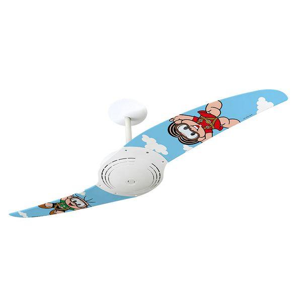 Ventilador-de-Teto-Spirit-200-Turma-da-Monica-Monica-Paraquedista-TM08-Sem-Lustre