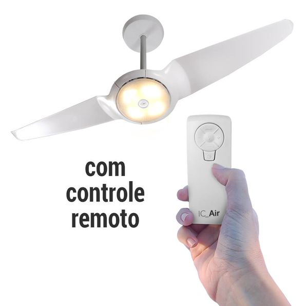Ventilador-de-Teto-SIRIT-IC-Air-LED-Branco-com-Controle-Remoto