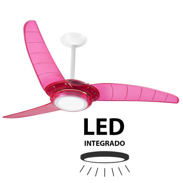 Ventilador-de-Teto-Spirit-303-Cores-Rosa-Neon-Led