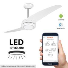 Ventilador-de-Teto-Spirit-203-Branco-Bluetooth-controlado-por-aplicativo