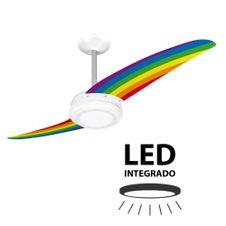 Ventilador-de-Teto-Spirit-203-Tribos-Arco-Iris-TR02-LED